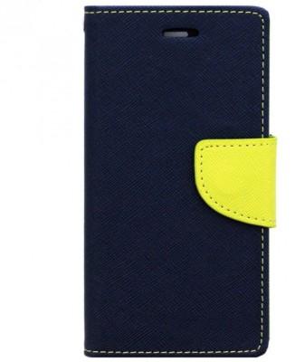 Sajni Creations Flip Cover for Motorola Moto E3 Power Blue