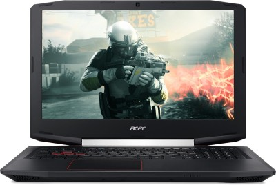 Acer Aspire VX Core i7 7th Gen - (8 GB/1 TB HDD/128 GB SSD/Windows 10 Home/4 GB Graphics) VX 15 Gaming Laptop(15.6 inch, Black, 2.5 kg) at flipkart