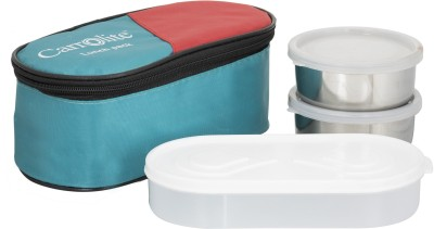 Carrolite Century Green Lunchbox 3 Containers Lunch Box 650 ml