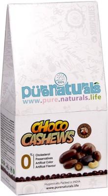 Pure Naturals Diets Choco Cashews(100 g, Pouch)