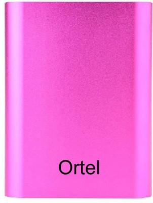 Ortel 10400 mAh Power Bank  ortu18, USB Portable Power Supply  Pink, Lithium Polymer