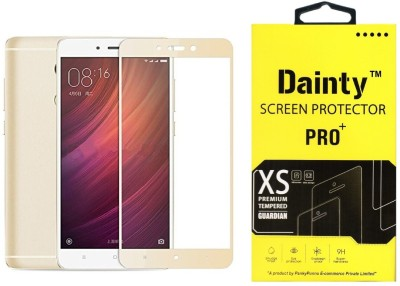 Dainty Tempered Glass Guard for Mi Redmi Note 4(Pack of 1)