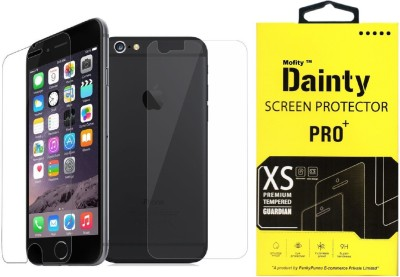 Remembrand Edge To Edge Tempered Glass for Apple iPhone 6, Apple iPhone 6s Plus