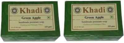 Khadi Herbal Green Apple Soap(250 g, Pack of 2)