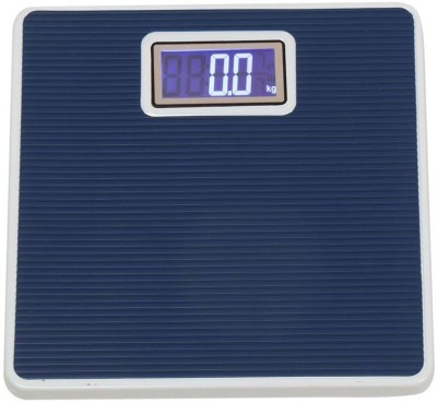 Zblack Blue Digital Iron Body 150 kg Weighing Scale(Blue)