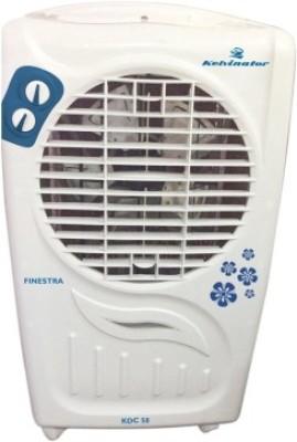 Kelvinator KDC 55/55R Desert Air Cooler(White, Blue, 51 Litres)