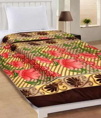 M G'S Real Decor 3D Printed Single Blanket Multicolor  available at flipkart for Rs.122