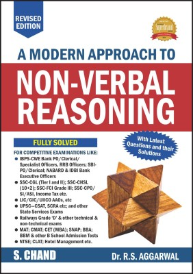 Modern Approach to Non Verbal Reasoning  (English, Paperback, R.S. Aggarwal)