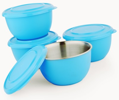 LIEFDE LIEFDE Stainless Steel Bowl Set(Blue) at flipkart