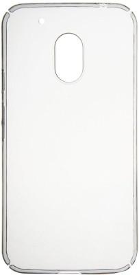 San Pareil Back Cover for Motorola Moto G4(Transparent, Back Cover)