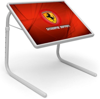 Shopper52 Plastic Portable Laptop Table(Finish Color - Red)