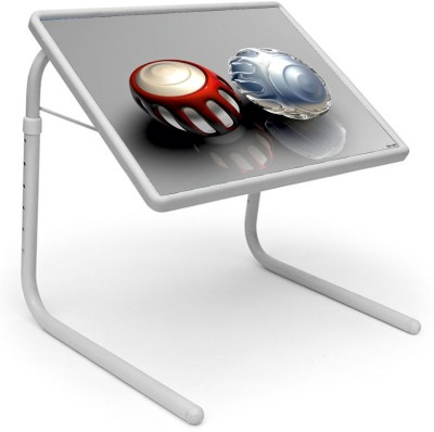 Shopper52 Plastic Portable Laptop Table(Finish Color - Grey)