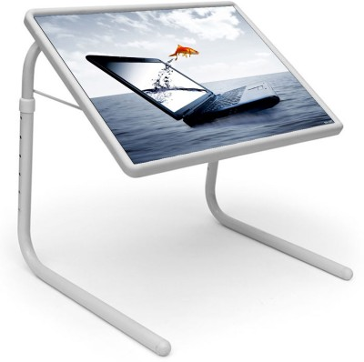 Shopper52 Plastic Portable Laptop Table(Finish Color - White)