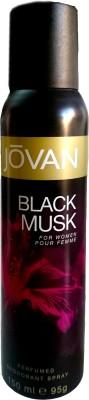 Jovan Black Musk Deodorant Women Spray, 150 ml