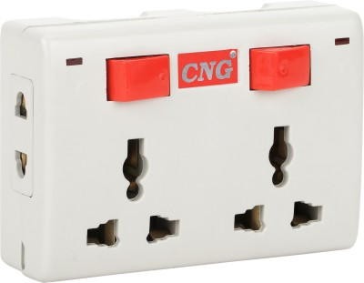 CNG 4 Universal Sockets Multiplug extension board 6 A Three Pin Socket  available at flipkart for Rs.199