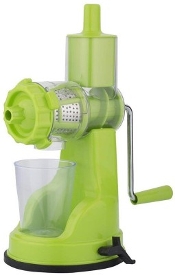 Jenil Fashion Unique Design Plastic Hand Juicer(Green Pack of 1) at flipkart
