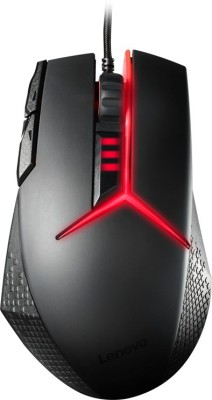 Lenovo GX30J07894 Wired Mechanical  Gaming Mouse(USB, Black)