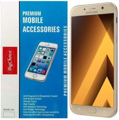 BigChoice Tempered Glass Guard for Samsung Galaxy A7-2017(Pack of 1)