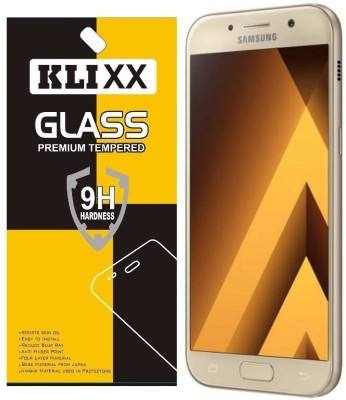 Klixx Tempered Glass Guard for Samsung Galaxy A5-2017(Pack of 1)