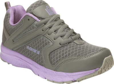 Admiral Active Running Shoes For Women(Grey) at flipkart