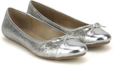 Bata CERSEI Bellies(Silver) at flipkart