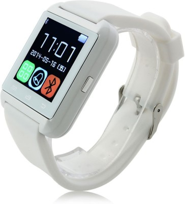 Medulla U8 White Smartwatch(White Strap Regular)