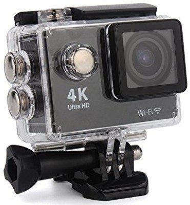 View Shrih Sport Hd Wifi Action Sports and Action Camera(Black 16 MP) Price Online(Shrih)