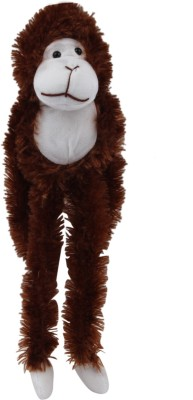 Galaxy World Long Arm Monkey   35 cm Brown Galaxy World Soft Toys