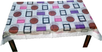 Qwistel Geometric 4 Seater Table Cover(Multicolor, PVC) at flipkart