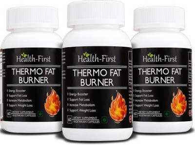 Health first Thermo Fat Burner for Weight Loss and Energy Booster 180 capsules 800 mg Health first Vitamin Supplement