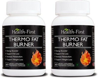 Health first Thermo Fat Burner for Weight Loss and Energy Booster 120 capsules 800 mg Health first Vitamin Supplement