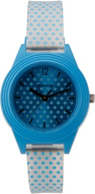 Sonata 87024PP04  Analog Watch For Girls