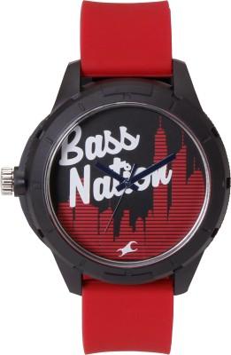 Fastrack 38019PP09J Analog Red Dial Men's Watch (38019PP09J)