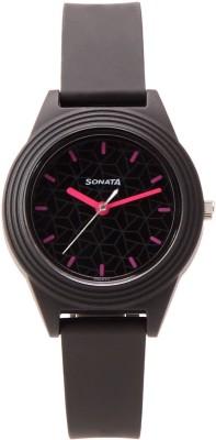 Sonata 87024PP06 Analog Watch - For Women