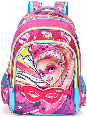 Barbie Princess School Bag 16 Inches Multicolour Inch