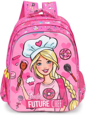 Barbie Barbie Character Flaps School Bags 16 inches School Bag(Multicolour, 16 inch)