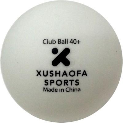 Xushaofa Xushaofa Club Seamless Ping Pong Ball -   Size: Standard(Pack of 6, White)