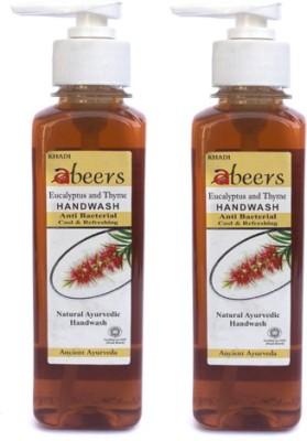 khadi abeers EUCALYPTUS & THYME HANDWASH(250 ml, Pack of 2)