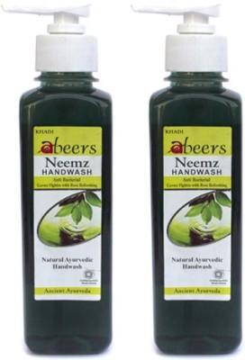 khadi abeers NEEMZ HANDWASH(250 ml, Pack of 2)
