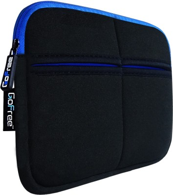 GoFree Sleeve for Kindle(Black With Blue Accents, Cloth)