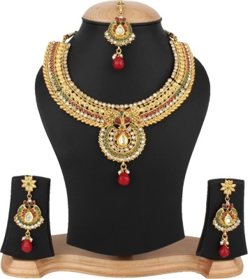 Penny Jewels Alloy Jewel Set(Multicolor) at flipkart