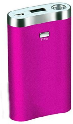 Shrih 7800 mAh Power Bank Pink, Lithium ion