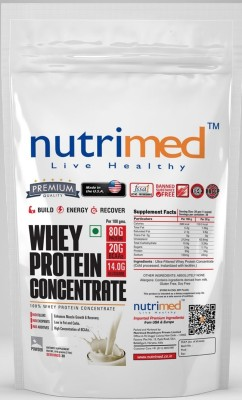 Nutrimed Whey Protein Concentrate (908gm / 2.01lbs, Banana)