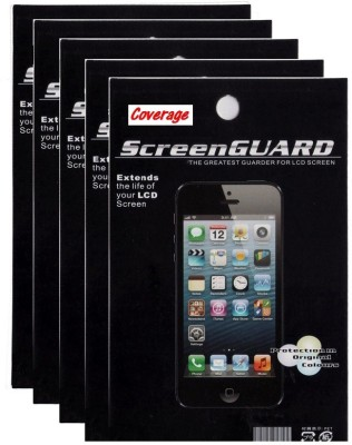 Coverage Screen Guard for Sony Xperia M2(Pack of 5)