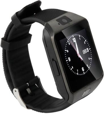 SYL Karbonn A15 Smartwatch(Black Strap Regular)