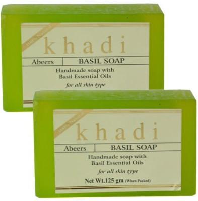 khadi abeers BASIL SOAP(125 g)