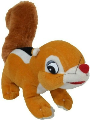 soniya enterprises squirrel   30 cm Brown soniya enterprises Soft Toys