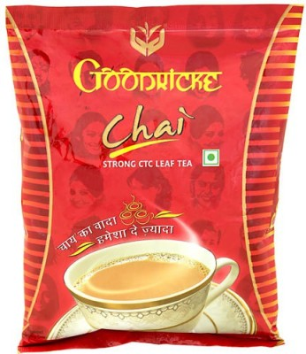 Goodricke Chai Plain, Unflavoured Black Tea(250 g, Pouch)  available at flipkart for Rs.72