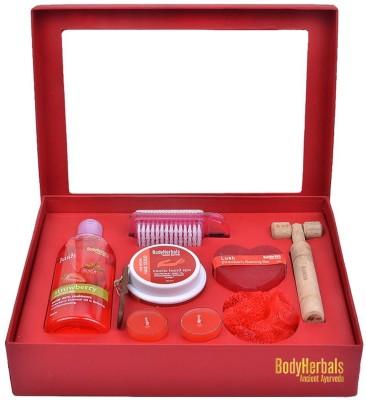 BodyHerbals Strawberry Essentials Set(Set of 8)