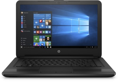 HP Core i3 6th Gen - (4 GB/1 TB HDD/Windows 10 Home) 14-ar005TU Notebook(14 inch, Black)
